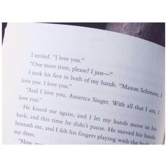This was so cute! I still think if she said this earlier or told him she even liked him, the Selection would've been over a lot quicker and maybe could've talked about the world and the changes Maxon and America were going to bring.