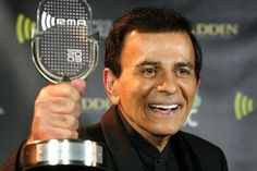 File photo of Casey Kasem posing with his Radio Icon Award at the 2003 Radio Music Awards, at the Aladdin Theatre for the Performing Arts in Las Vegas, Nev. Kasem died Sunday at age Music Hits, Pop Music, Aladdin Theater, Theatre, Casey Kasem, Radio Icon, Radio Advertising, Radio Personality, Family Feud