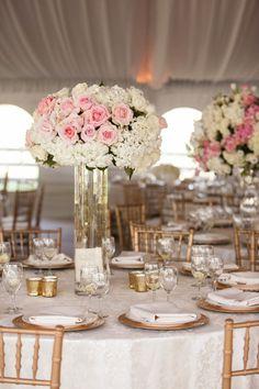 wedding centerpiece idea; photo: Karlisch Photography
