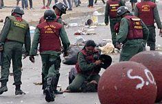 La crudeza de la represión en Venezuela es difundida en redes sociales