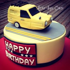 Only Fools & Horses Three-Wheeler Van Cake