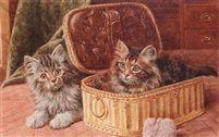 Wilson Hepple (Inglaterra, 1886- 1939). Playmates, 1915.