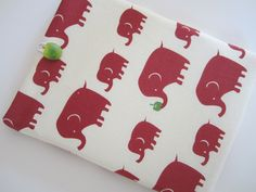 iPad Mini Sleeve iPad Mini Case iPad Mini Cover iPad 2 iPad 3 Kindle Kokka Elephants. $26.99, via Etsy.