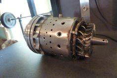 Homemade Jet Engine Model