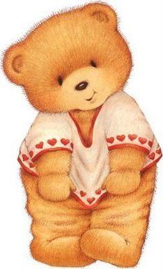 les meli melo de mamietitine - Page 54 Tatty Teddy, Illustration Mignonne, Bear Illustration, Bear Images, Teddy Bear Pictures, Bear Clipart, Cute Clipart, Cute Images, Cute Pictures