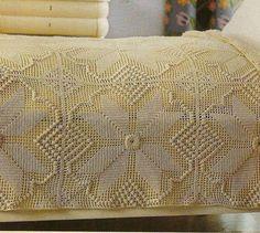 Crochet Carpet, Bed Spreads, Crochet Projects, Crochet Patterns, Blanket, Rugs, Crafts, Crochet Table Runner, White Bedspreads