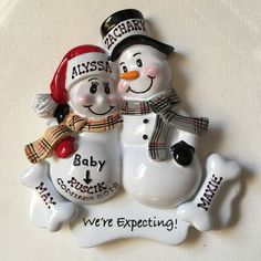 I'm offering a discount! Personalized Piggy Bank, Personalized Party Favors, Personalized Christmas Ornaments, Baby First Christmas Ornament, Babies First Christmas, Pre Christmas, Christmas Ideas, Pig Party, Baby Shower Centerpieces