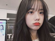 Guía Ulzzang Tips that will help you if you want to be an Ulzzang girl everything # Of Everythin Korean Girl Ulzzang, Ulzzang Girl Fashion, Cute Korean Girl, Korean Makeup Ulzzang, Cute Asian Girls, Uzzlang Girl, Korean Beauty, Asian Beauty, Korean Bangs