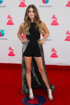 Sofia Reyes Wore 1 Playful Look to the 2016 Latin Grammy Awards