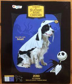 Disney Store Jack Skellington Nightmare B4 Christmas DOG ZERO ...
