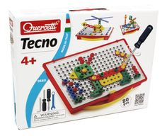 Amazon.com: Quercetti Tecno Building Toy: Toys & Games