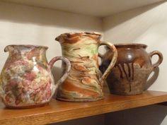 pots en terre anciens