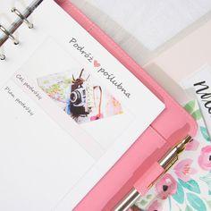 Organizer planer ślubny A5 prezent róż - szary - miss_planner - Notatniki