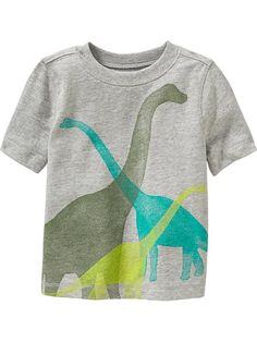 Dinosaur Tees for Baby Product Image