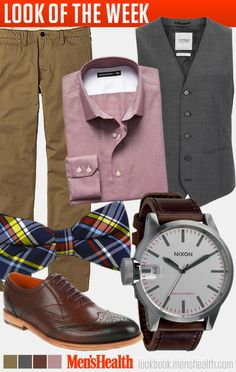 Be confident and dare to rock a bow tie. (For more tips, read this.) Shirt: Banana RepublicPants: UniqloVest: TopmanWatch: NixonShoes: Ted BakerBow tie: The Tie Bar