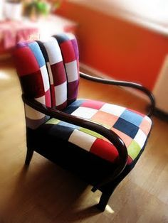 Upholstery on Pinterest   38 Photos on patchwork chair, upholstery ...