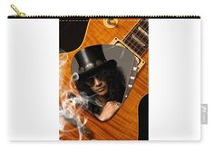 Slash Carry-all Pouch featuring the mixed media Slash Art by Marvin Blaine