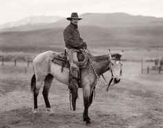 View Martin black, stampede ranch, Nevada by Jay Dusard on artnet. Browse upcoming and past auction lots by Jay Dusard. Cowboy Gear, Cowgirl And Horse, Horse Riding, Rodeo Cowboys, Real Cowboys, Cowboy Pictures, Art Pictures, Cowboy Images, Westerns