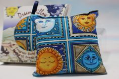 Dream Pillow in Box  (Celestial Design)