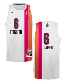 adidas Miami HEAT LeBron James Adult Floridians Swingman Jersey 0468fc169