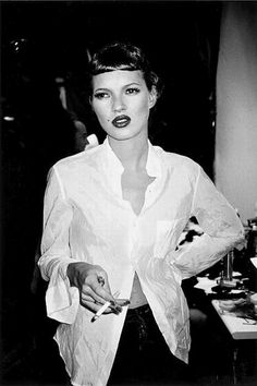 Kate Moss photographed by Roxanne Lowit