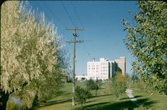 This is the old hospital in Idaho Falls Idaho back in the day. I was born there!
