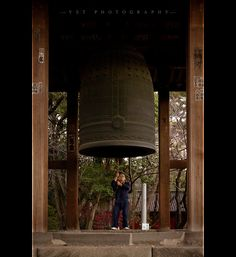 The Bell and the Monk, Japan by YST (aka kryptos5), via Flickr. S)