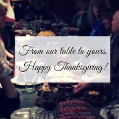 From our table to yours - Happy #Thanksgiving! #ExploreMore  #adventure #adventurelife #travelgram #instatravel #wanderlust #doyoutravel #bestvacations #ourplanetdaily #travelbug #outdoorlife #gooutandplay #holidays #grateful