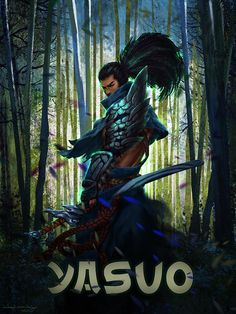 Yasuo fan art | League of Legends