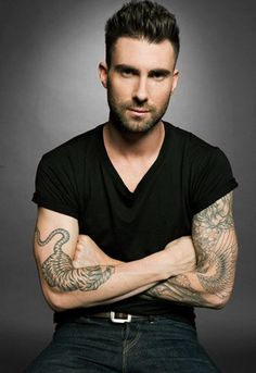 Adam Levine- To hear him tell it, he's just a big nerd with a guitar.  Impossible not to like this guy.