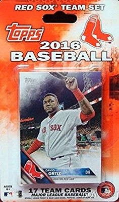 b3a25f2fe Boston Red Sox 2016 Topps Baseball Factory Sealed EXCLUSIVE Special Limited  Edition 17 Card Complete Team Set with Dustin Pedroia David Ortiz Many More  ...