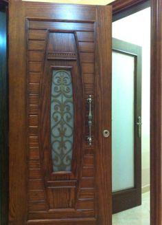 Made By Dream House Wooden Front Door Design, Wooden Front Doors, Modern Front Door, Wood Doors, Latest Door Designs, Bedroom False Ceiling Design, Door Design Interior, Cupboard, Alabama