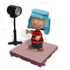 Amazon.com: Peanuts Charlie Brown Christmas Linus Van Pelt Shepherd Action Figure 2008: Toys & Games