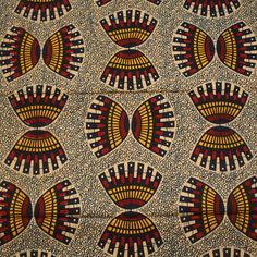African wax block print fabric via Urbanstax