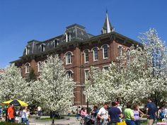 University Hall, my favorite building at Purdue