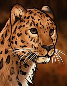 How to Draw a Leopard Head, Step by Step, Rainforest animals, Animals, FREE… Cheetah Drawing, Cat Drawing, Drawing Sketches, Painting & Drawing, Animal Sketches, Animal Drawings, Cheetah Photos, Cheetah Face, Rainforest Animals