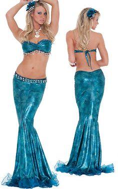 Mermaid halloween costume<3