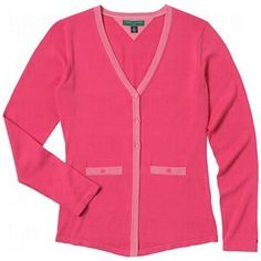 Tommy Hilfiger Ladies Ania Three Button Cardigan Sweater by Tommy Hilfiger. $29.98. Tommy Hilfiger Ladies Ania Three Button Cardigan Sweater...Superior Fashion & Quality! Great For Cool Mornings or Early Tee Times for the Links & Beyond! Tommy Hilfiger apparel is true to the spirit of Tommy, taking the classic preppy look you love and refining it with a twist, for quality style to be worn on and off the fairway. Tommy Hilfiger Ladies Ania Three Button Cardigan Sweater ...