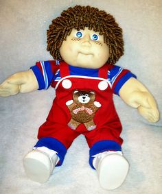 Cute Cabbage Patch Kids Curly Boy!
