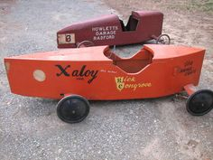 soap box derby races were a big deal! **My dad and I built one for me to race in the 60s** great memory!!