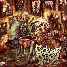 Corpseflesh - Tattooed By A Blowtorch (2013), Brutal Death Metal