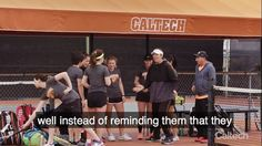 Have a mentor, be a mentor. Mandy Gamble, head coach of the Caltech men's and women's tennis teams, joins women's co-captain Sophia Chen and men's co-captain Morgan Lebby to reflect on how success comes from knowing how to be both a leader and a team player. Watch the full video at https://breakthrough.caltech.edu/caltecheffect/2017-mar/#Have-a-Mentor-Be-a-Mentor. #CaltechImpact  And read more about how Caltech offers students opportunities to be collaboratively ambitious—and ambitiously…