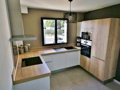 Home Dco Cuisine Design 34 Ideas Kitchen Room Design, Modern Kitchen Design, Interior Design Kitchen, Kitchen Decor, Küchen Design, House Design, Custom Design, New Kitchen, Home Deco