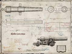 Cannon blueprints