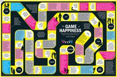 The Game of Happiness / Research reveals what hurts-and helps- in the pursuit of bliss. By Heather Jones for Time.