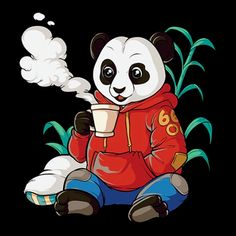 Streetwear Coffee Drinking Panda This new streetwear t-shirt design features a chilling panda drinking coffee. Get this amazing design to stand out from the crowd. Book Of Mormon Musical, Coffee Drinks, Drinking Coffee, Panda Painting, Panda Shirt, Day Of The Shirt, Pokemon, Chibi Characters, Emoji Wallpaper