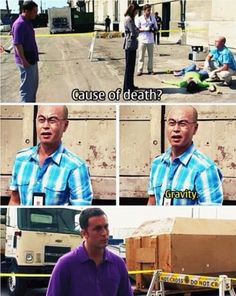 Masuka is probably the funniest character in Dexter