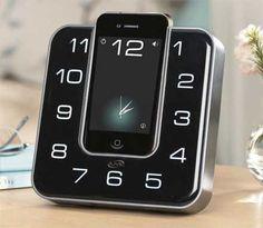 iLive clock radio dock for iPhone.