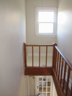 Stairwell Storage make use of the dead space above the existing stairs. the stairs