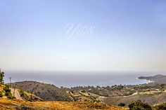 View over Malibu and the Pacific Ocean seen from Latigo Canyon Road (Axl Roses house)